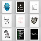Motivational Prints Entrepreneur Quotes Framed Wall Art Inspirational Pictures