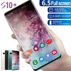 """S10 Smart Mobile Phone 6.5"""" Face Id Unlocked Dual Sim Android 9.1"""