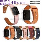 Apple Watch Genuine Leather Band iWatch Strap Series 5 4 3 2 1 40/44mm 38/40mm image
