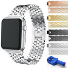 Stainless Steel iWatch Metal Strap Band For Apple Watch Series 3 2 1 38mm/42mm image