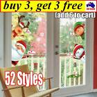 Christmas Window Decals Wall Stickers Adhesive Removable Home Decoration Cb 2020