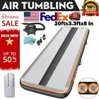 Airtrack Inflatable Air Track Tumbling Mat 1/3/4/5/6M x20cm Gymnastics GYM Pump image