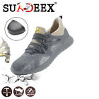 Womens Work Safety Shoes Indestructible Steel Toe Boots Breathable Sneakers US