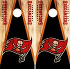 Tampa Bay Buccaneers Cornhole Skin Wrap NFL Wood Decal Vinyl Board Logo DR634 $39.99 USD on eBay