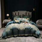 10 pcs Bedding set Luxury palace Jacquard quilt cover bed cover/sheet pillowcase image