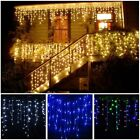 3-24M LED Curtain Icicle String Fairy Light LED Christmas Garland Indoor