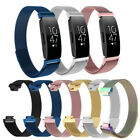 For Fitbit Inspire/Inspire HR Band Milanese Mesh Stainless Steel Magnetic Clasp image