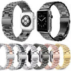 For Apple Watch 1/2/3/4/5 Stainless Steel Bracelet Watch Band Strap 38mm-44mm image