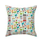 New York Brooklyn Icon Throw Pillow Cover w Optional Insert by Roostery