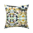 Abstract Nursery Baby Painted Throw Pillow Cover w Optional Insert by Roostery