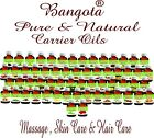 Carrier Oils 100% Pure Natural Massage Aromatherapy 5 ml to 30 ml by Bangota