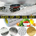Kitchen Stickers Stove Cupboard Oil-proof Aluminum Foil Wallpaper Self Adhesive