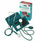 Premium Blood Pressure Cuff + Dual Head Stethoscope Kit w/ Zipper Carrying Case