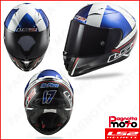 CASCO INTEGRALE FULL FACE LS2 ARROW C EVO FF323 MCPHEE REPLICA BLACK BLUE RED NE