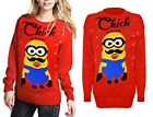 'Chick' Minion New Knitted Jumper Sweater Pullover Winter Holiday Christmas