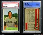 1954 Bowman #66 Jimmy Piersall Same as Card #210 Red Sox PSA 7 - NMBaseball Cards - 213