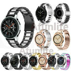 US Samsung Galaxy Watch Active 2 40mm 42mm 44mm Strap Stainless Steel Watch Band image