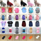 Puppy Pet Cat Dog Sweater Jacket Knitted Coat Small Dogs Winter Warm Clothes