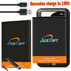 Upgraded 5320mAh Replacement Battery USB Charger Type C Cable f LG V20 BL-44E1F