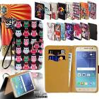 Flip Leather Card Wallet Stand Cover Phone Case For Samsung Galaxy J1 J2 J3 J4