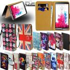 Flip Leather Wallet Stand Cover Phone Case For LG K3 K4 K7 K8 K9 K10 Smartphones