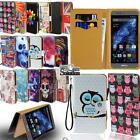Flip Leather Wallet Stand Cover Phone Case For Bluboo Smartphones + Strap