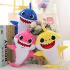 Shark Toys Soft Plush Singing Music English Song Cute Cartoon LED For Baby/Kid
