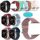 1*Sweat-proof Silicone Band Wrist Strap for Apple Watch iWatch 1 2 3 4 38mm/42mm image
