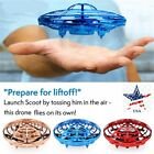 US 360° Smart Mini Hand-Control Drone Helicopter Quadcopter Flying Toy Xmas Gift