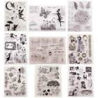 9 Styles Fairy Clear Silicone Stamp Seal For Diy Scrapbooking Photo Sheets Mbyss