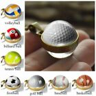 Chic Double Sided Glass Ball Necklace Classic Sports Art Pattern Series Gift Hot $5.41 AUD on eBay
