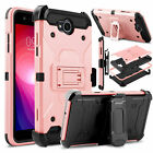 For LG X Power 2/Fiesta LTE/ X Charge Case Cover Belt Clip Cover With Kickstand
