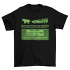 Oregon Trail Delorean Back To The Future T-Shirt Unisex Adult Funny Sizes Game