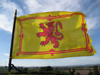 Large Scotland Rampant Lion  Sky Blue  Navy Blue Saltire Flags SPEEDY DELIVERY