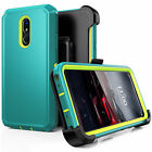 For LG Stylo 5/4 Plus Rugged Case +Screen Protector+Stand Belt Clip fit Otterbox