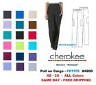 Kyпить Cherokee Workwear PETITE Women's Nurse Scrub Pants  Style 4200 ~NEW~ Free Ship на еВаy.соm