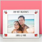 PERSONALISED Our First Valentines Day Photo Frame Gifts for Her Him Girlfriend
