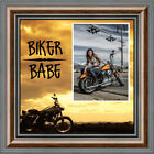 *NEW* Harley Davidson Classic Motorcycle Picture Frame Choose Your Message $28.99 USD on eBay