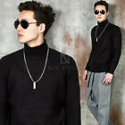 NewStylish Mens Basic knit turtle-neck knit shirts - 95
