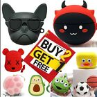 For AirPods Pro Cute 3D Cartoon Design Silicone Case Protective Cover Best