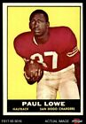 1961 Topps #167 Paul Lowe Chargers Oregon St 6 - EX/MT $11.0 USD on eBay
