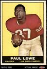 1961 Topps #167 Paul Lowe Chargers Oregon St 5 - EX $10.0 USD on eBay