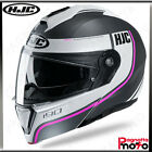 CASCO DONNA MODULARE APRIBILE FLIP UP DOPPIA VISIERA HJC I90 DAVAN MC8SF
