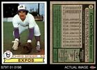 FixedPrice1979 topps #426 chris speier expos 7 - nm