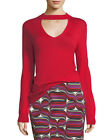 NWT Trina Turk Graham Sweater Pagoda Red Size M  $228 17R902