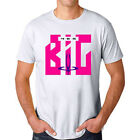 YES Band Big Generator Album Logo Men's White T-Shirt Size S M L XL 2XL 3XL