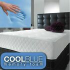 Memory Foam Mattress Quilted Sprung- 3ft Single Double 4ft6 DOUBLE 5ft Matress!