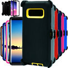 For Samsung Galaxy Note 8 Shockproof Hard Case Cover Clip Fits Otterbox Defender