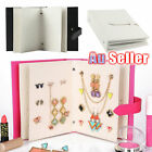 Jewelry Box Creative Organizer Gift Case Earring Storage Holder Book Necklace