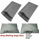 Cheap Mailing Bags Grey All Sizes Poly-Postal Self Seal